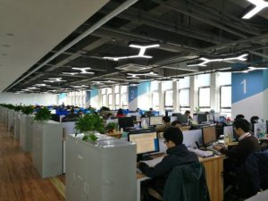 リーディングソフトの社内開発風景