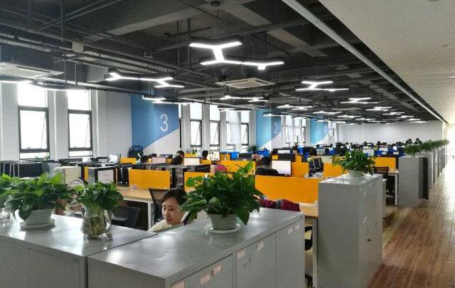 南京開発部署社内風景